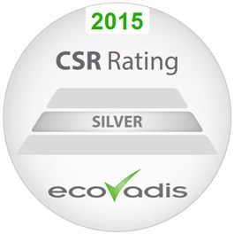 RSE - CSR rating ecovadis 2015